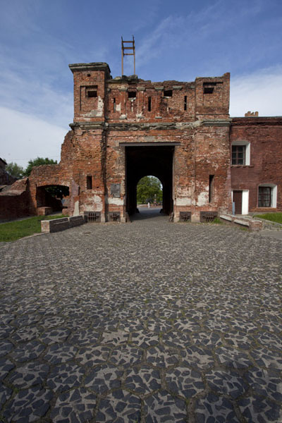 Picture of Terespol Gate on the western side of the fortress of BrestBrest - Belarus
