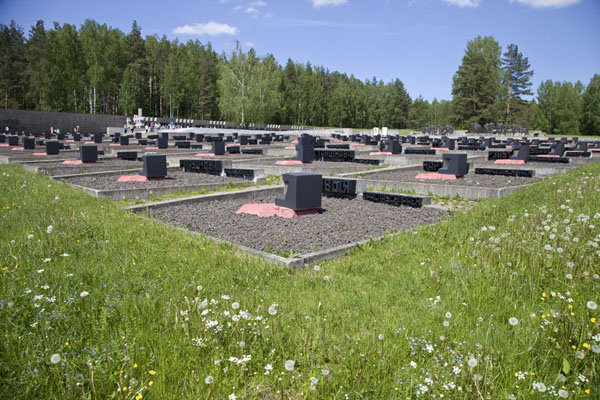 The graveyard of villages which disappeared from the face of the earth during World War II |  | 被拉瑞斯