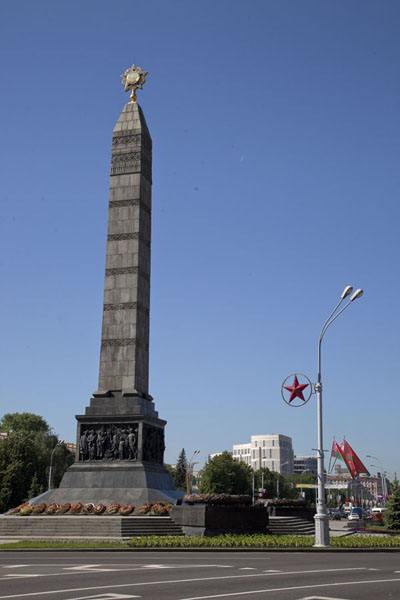 Obelisk on Victory Square | Nyezhavisimosty Avenue | Belarus
