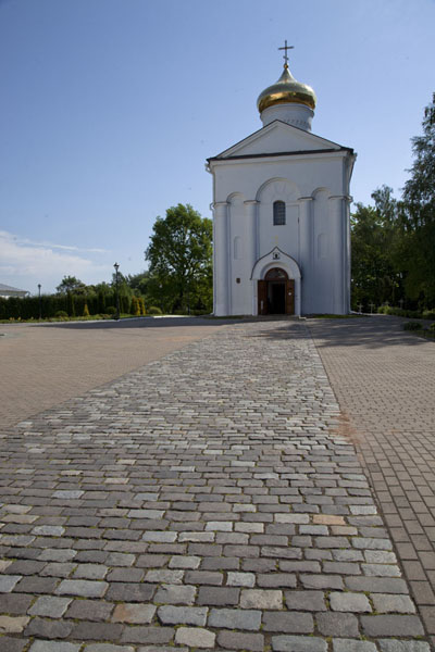 Foto de The 12th century Church of the Saviour in which Euphrosyne has been laid to restPolatsk - Bielorrusia