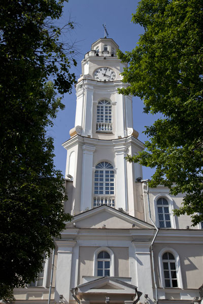 The baroque tower of the City Hall of Vitebsk | Vitebsk | Belarus