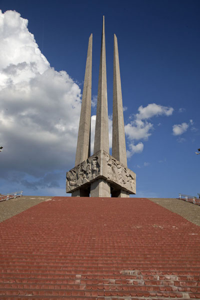 The memorial monument for the victory of the Great Patriotic War | Vitebsk | Belarus