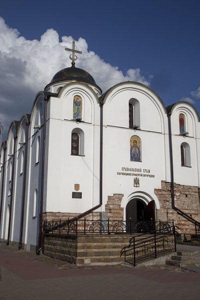 Picture of The Blaghovezhenskaya Annunciation church close to the Dvina riverbankVitebsk - Belarus