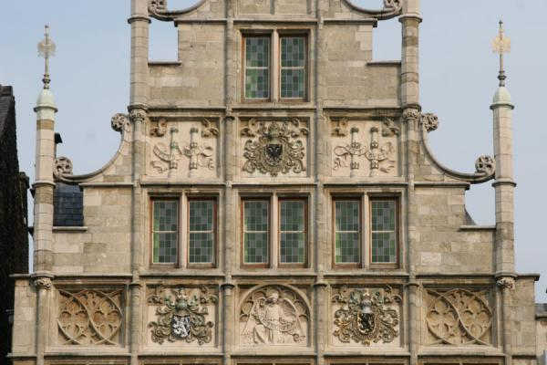 Picture of Close-up of one of the houses of historical GhentGhent - Belgium