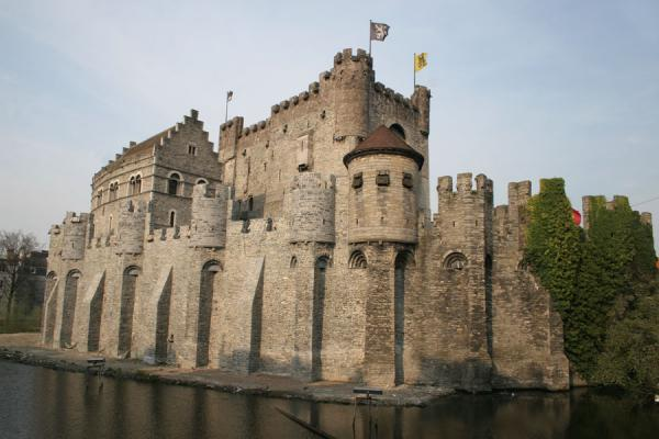 Picture of Gravensteen castle in historical Ghent