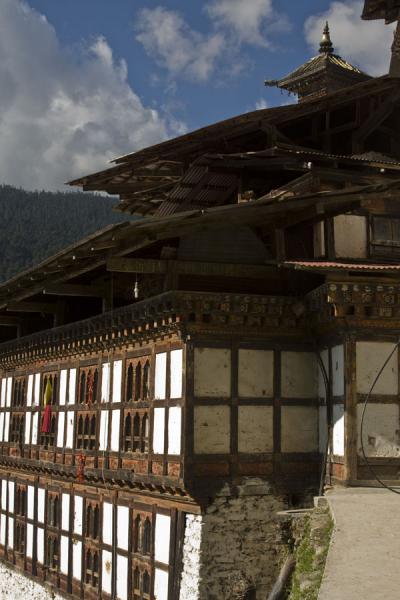 Main building of Cheri Monastery | Cheri Monastery | Bhutan