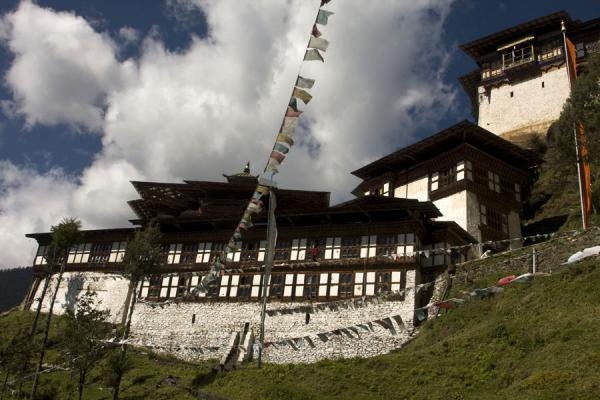 Cheri Monastery seen from below | Cheri Monastery | Bhutan