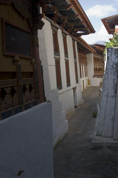 Inside view of some of the buildings of Punakha Dzong | Punakha Dzong | Bhutan