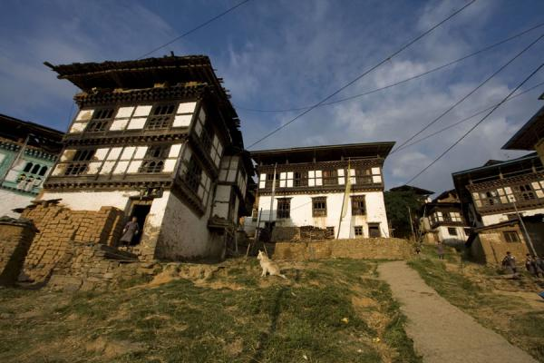 Picture of Rinchengang (Bhutan): Open space in Rinchengang village, with the feel of a main square
