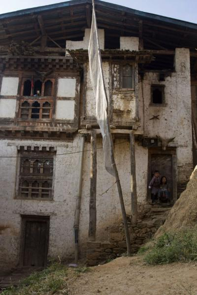 Picture of Rinchengang (Bhutan): House in Rinchengang village