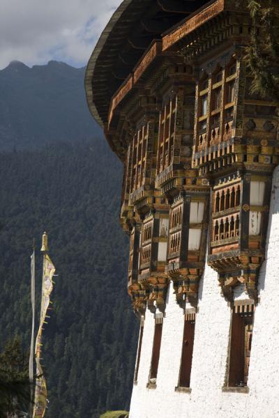 Picture of Tango Monastery (Bhutan): Tango Goemba seen from a short distance