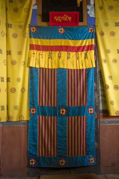 Door in Tango Monastery | Tango Monastery | Bhutan