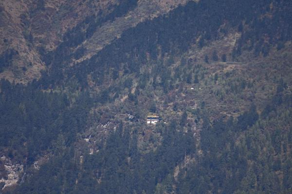 Thowada Goemba sits high up a remote mountain in Tang Valley | Thowada Goemba | Bhutan