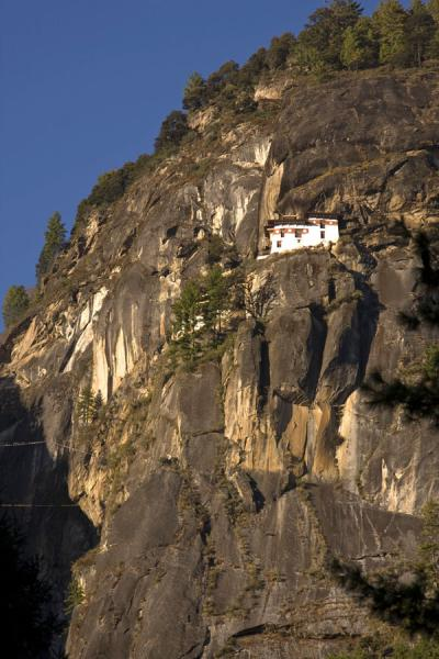 Picture of Tiger Nest Monastery, Taktsang, amazingly built on the cliffs