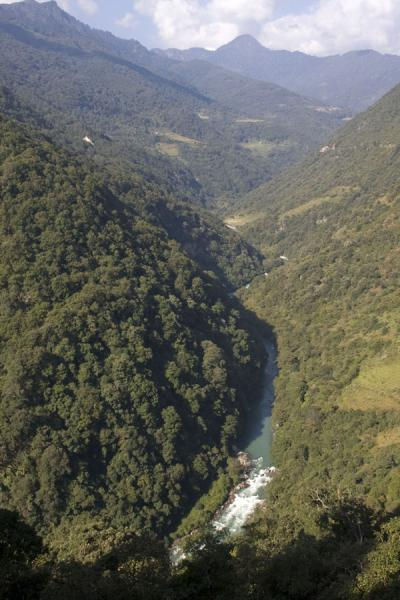 Picture of Looking into Mangde Chhu valley