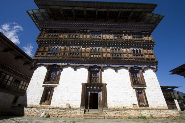 One of the buildings currently housing the museum | Ugyen Chholing Palace | Bhutan