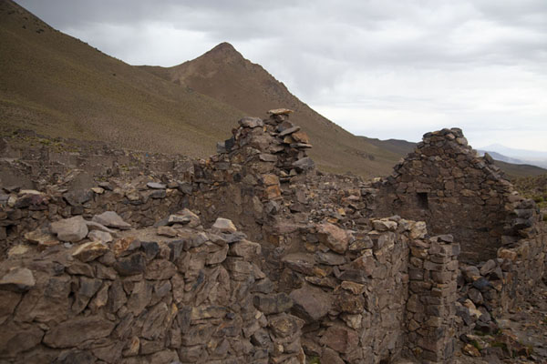 Ruined walls and buildings in San Antonio de Lípez | Città fantasma | Bolivia