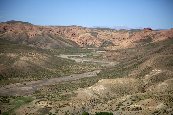 Photo de Panoramic view of the landscape near El SillarPaysages du sud-ouest de Bolivia - la Bolivie