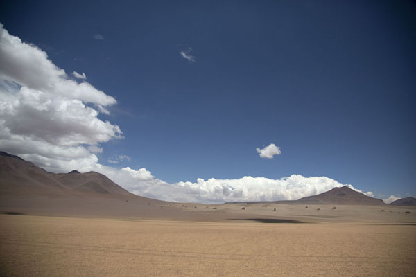 Rock formations in an area called the Salvador Dalí desert | Southwest Bolivia landscapes | Bolivia