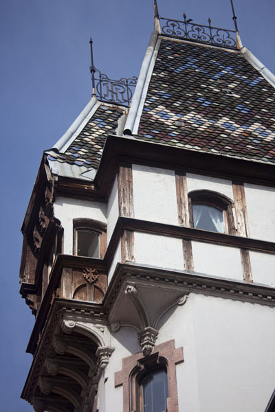 Picture of Close-up of the Heinrich-Reiter villa on Petrakijina Street in SarajevoSarajevo - Bosnia and Herzegovina