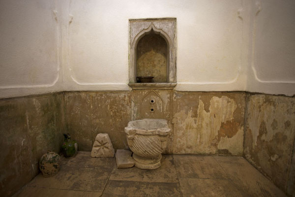 Picture of Inside the bathroom of the tekke of Blagaj