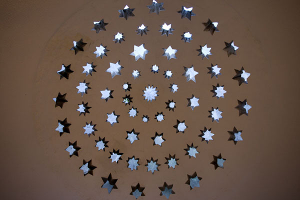 Picture of The ceiling of the bathroom of the tekke is decorated with stars