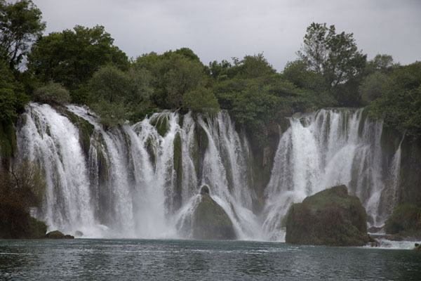 Central section of Kravice falls | Kravice waterfalls | Bosnia and Herzegovina