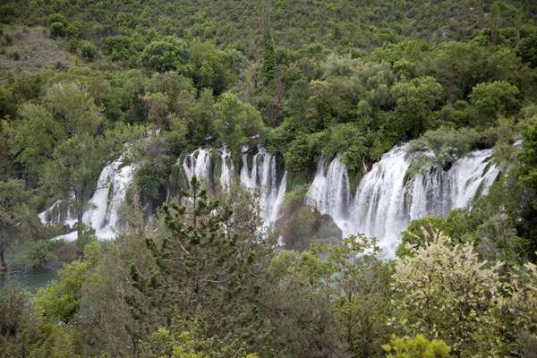 View of the Kravice waterfalls from above | Kravice waterfalls | Bosnia and Herzegovina