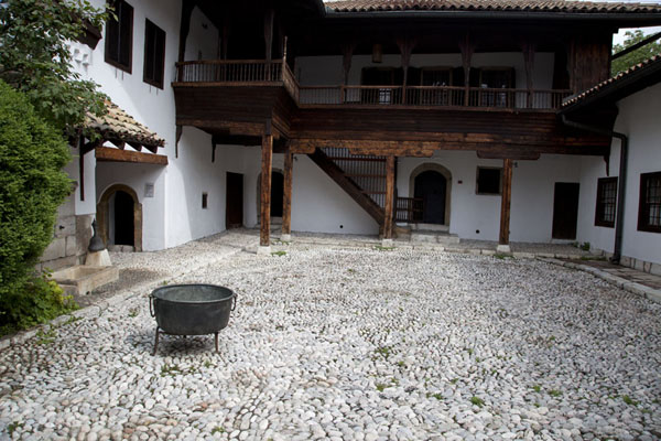 Courtyard of the Svrzo house, typical example of Ottoman style houses in Sarajevo | Ottoman Sarajevo | Bosnia and Herzegovina