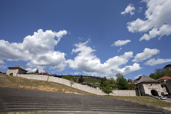 Picture of Part of the wall of the citadel with Ploče and Širokac TowersSarajevo - Bosnia and Herzegovina