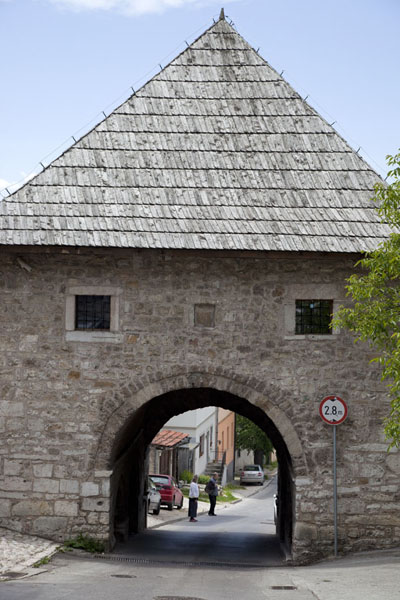 The Širokac Kula Tower is one of the entrance gates to Vratnik | Vratnik quarter | Bosnia and Herzegovina