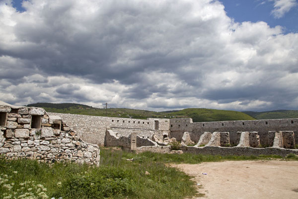 Picture of The White Fortress, or Bijela Tabija, is a medieval fort overlooking Sarajevo