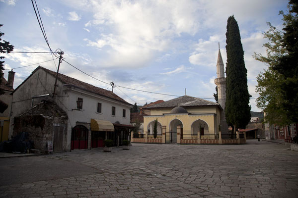 Picture of One of the squares of the old town of Trebinje