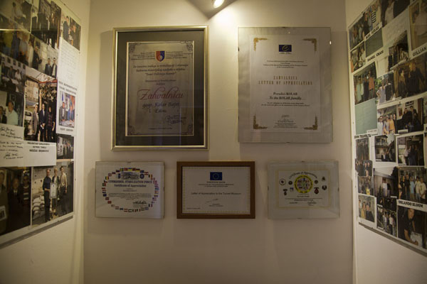 Small exhibition of famous people who visited the museum of the Tunnel of Life | Tunnel of Life | Bosnia ed Erzegovina