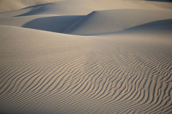 Close-up of smooth hills behind Cumbuco | Cumbuco sand dunes | Brazil