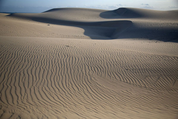 Foto di The sand dunes in the early morningCumbuco - Brasile