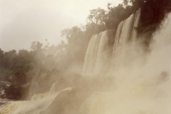 Picture of Iguazu Falls (Brazil): Iguazu Falls from below