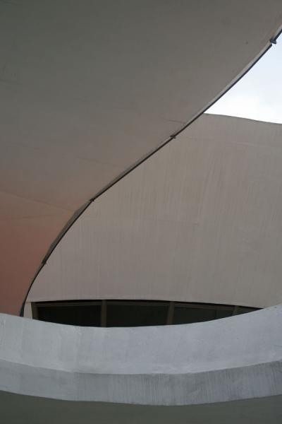 Curves of the MAC building | MAC Niemeyer Museum | Brazil