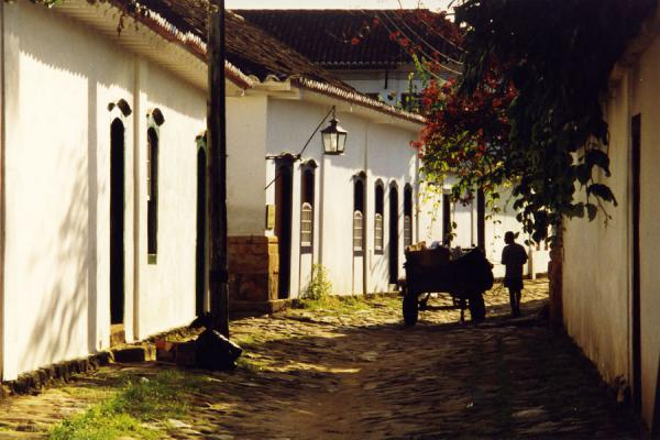 Picture of Paraty (Brazil): Street scene in Paraty