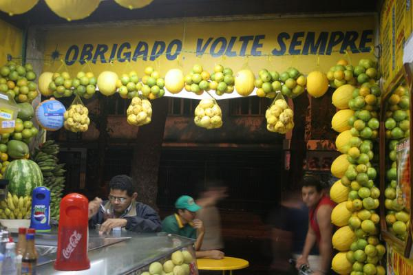 Picture of People at a fruit stall in Rio de JaneiroRio de Janeiro - Brazil