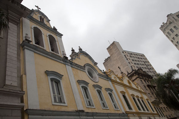 Picture of São Paulo Historic Centre (Brazil): Twin churches São Francisco de Assis next to the College of Law