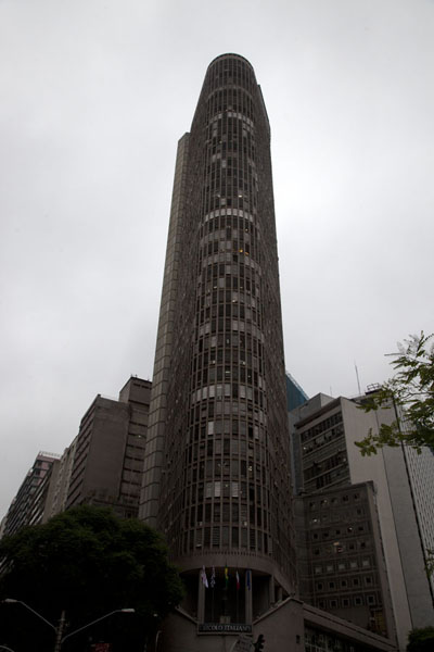 Picture of São Paulo Historic Centre (Brazil): Looking up one of the tallest buildings of São Paulo: Edificio Italia