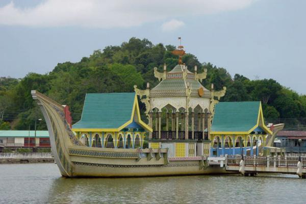 Royal barge | Brunei Moskeeën | Brunei
