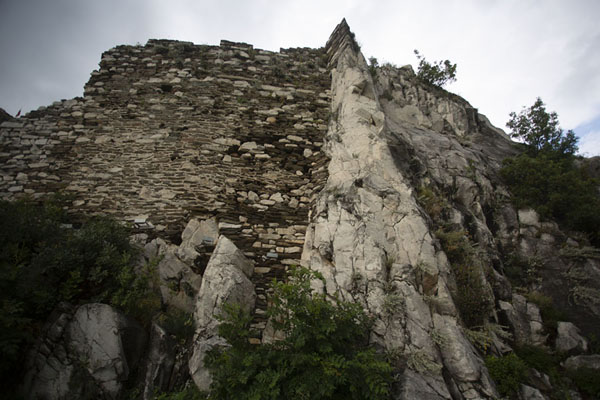Picture of Rocks and walls make the fortress look impenetrableAsen - Bulgaria