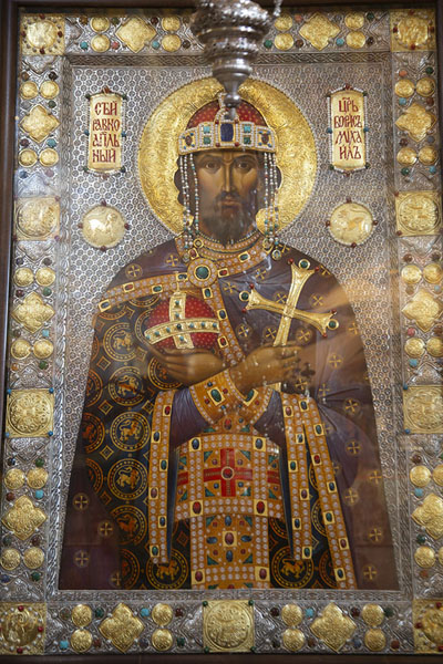 One of the relics in the Sveta Bogoroditsa church | Monastère de Batchkovo | Bulgarie