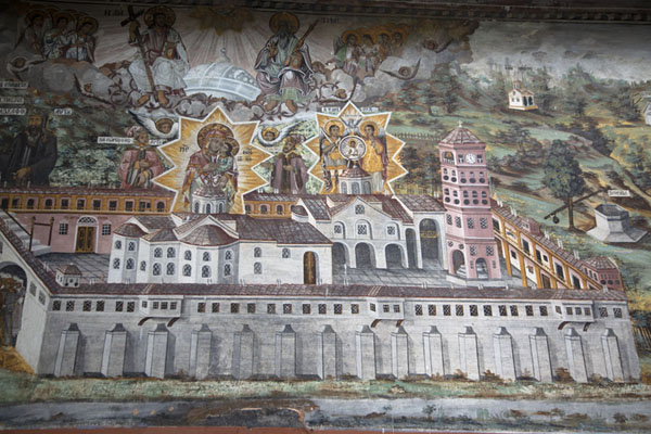 Picture of The Panorama mural depicting Bachkovo Monastery in the 19th centuryBachkovo - Bulgaria