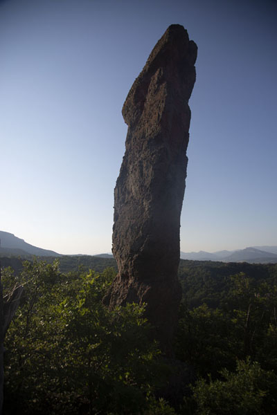 Rock pillar in the early morning | Rotsen van Belogradchik | Bulgarije