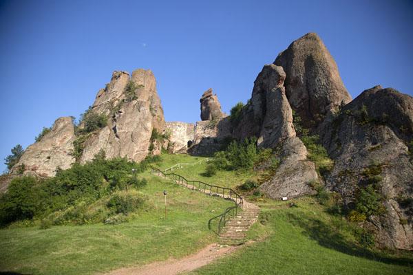 Foto van The inner part of Belogradchik fortressBelogradchik - Bulgarije