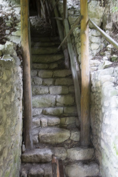 Water was supplied to the castle through these King's stairs, leading from the source of the water to a cistern above | Fortezza di Cierven | Bulgaria