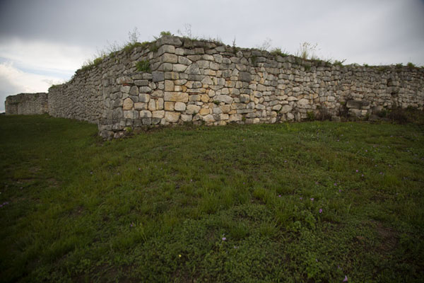 One of the walls of the castle inside the fortress | Fortezza di Cierven | Bulgaria